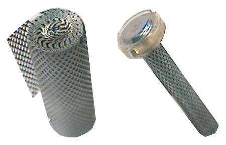 expanded metal mesh for battery electrode design