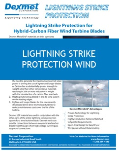 Lightning Strike Protection for Wind Turbines white paper cover