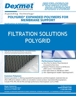 PolyGrid Filtration Membrane Support