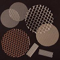 Die cut and EDM Cut MicroGrid® mesh