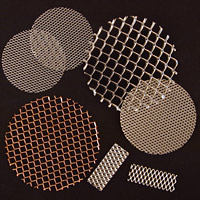 Die cut and EDM Cut MicroGrid® mesh