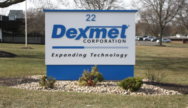 Dexmet's building entrance