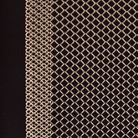 Expanded metal with selvaged edges