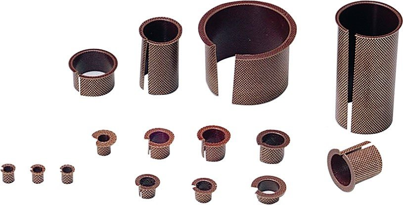 expanded metal bearings and bushings