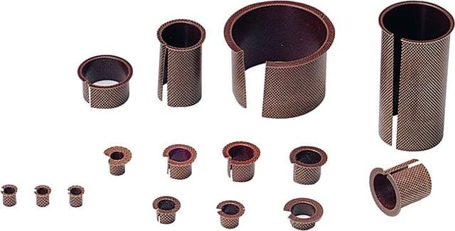 expanded metal bearings and bushings