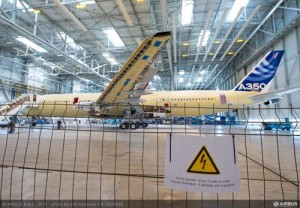 Confirming A350 XWB safety with lightning strike evaluations