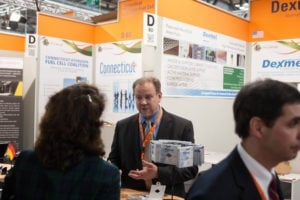 Dexmet at the Hydrogen & Fuel Cells Exhibit in Hannover, Germany | April 2014
